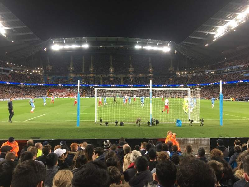 Seating view for Etihad Stadium (Manchester) Section 137 Row G Seat 1029