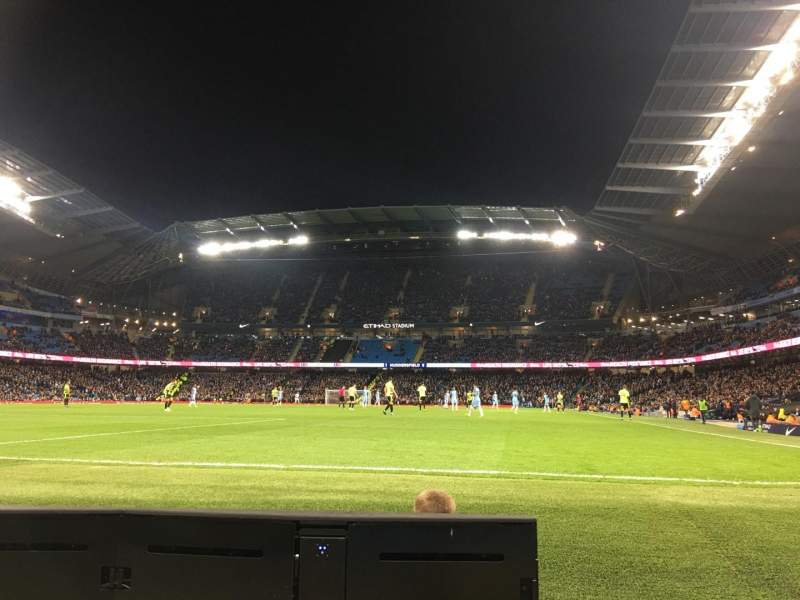 Seating view for Etihad Stadium (Manchester) Section 134 Row 2 Seat 943