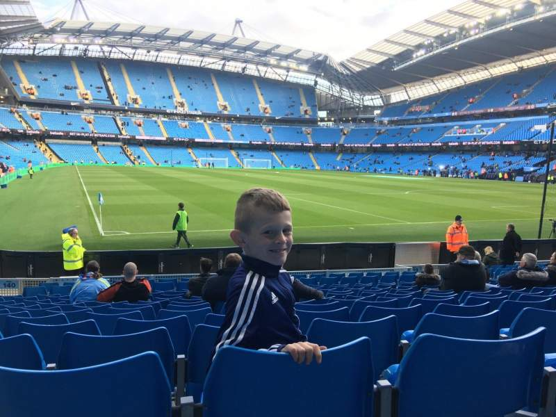 Etihad Stadium (Manchester), section: 140, row: N, seat: 1103