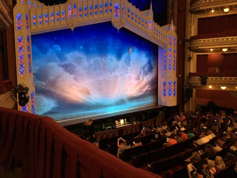 Seating view for CIBC Theatre Section Dress Circle Box 1 Row C Seat 205