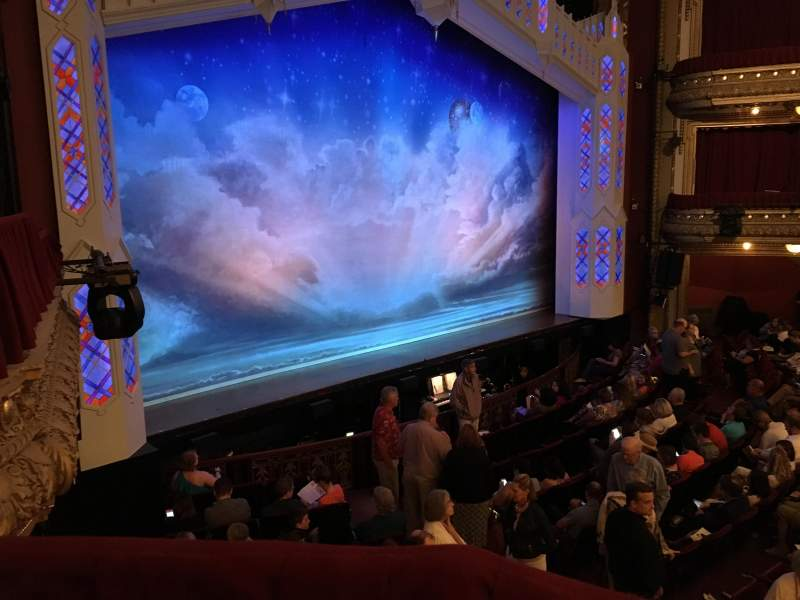 Seating view for PrivateBank Theatre Section Dress Circle Box 1 Row C Seat 205