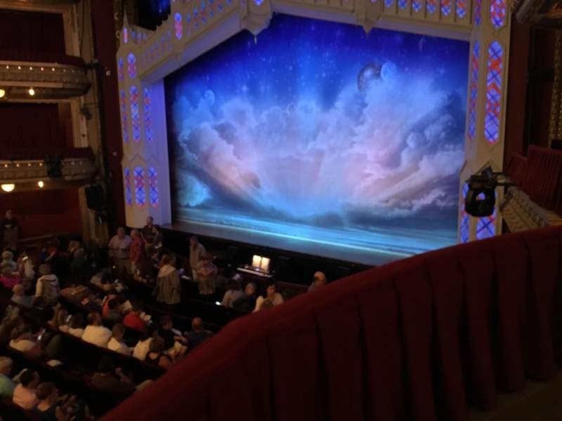 Seating view for PrivateBank Theatre Section Dress Circle Box 2 Row BX2 Seat 206