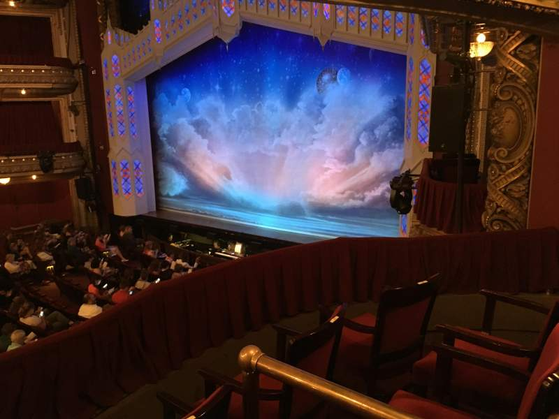Seating view for PrivateBank Theatre Section Dress Circle Box 2 Row BX2 Seat 212