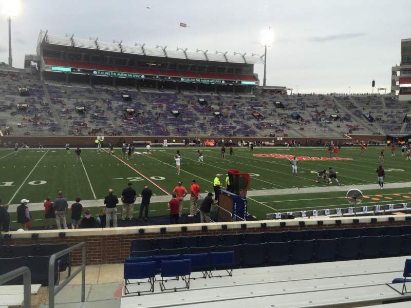 Seating view for Vaught-Hemingway Stadium Section G Row 9 Seat 29
