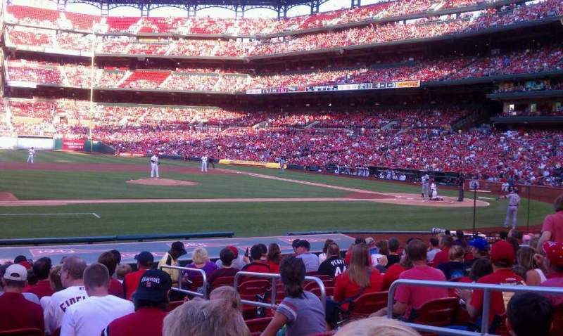 Seating view for Busch Stadium Section 157 Row 5 Seat 5