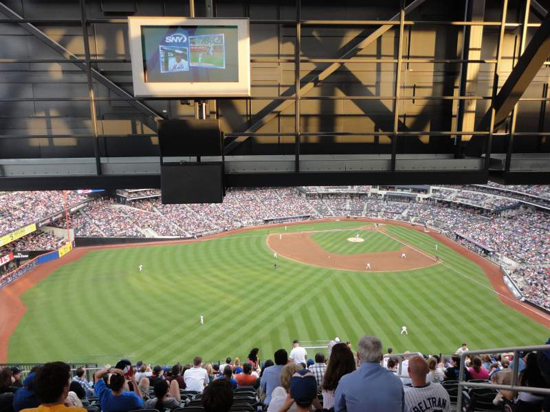 Seating view for Citi Field Section 538 Row 17 Seat 6