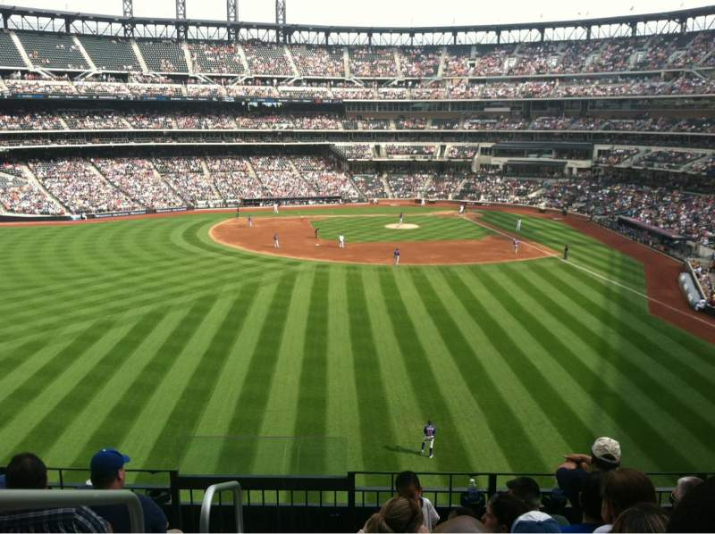 Seating view for Citi Field Section 335 Row 6 Seat 20