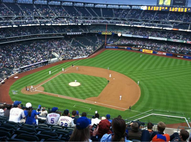 Seating view for Citi Field Section 506 Row 10 Seat 20