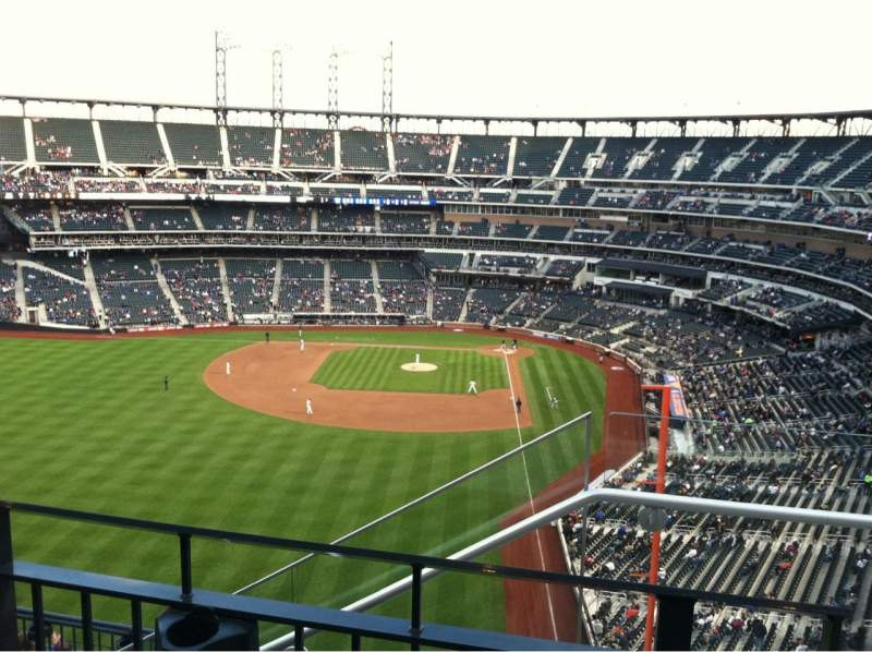 Seating view for Citi Field Section 533 Row 2 Seat 1