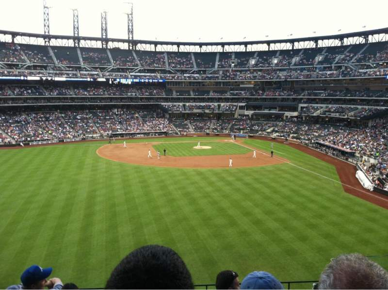 Seating view for Citi Field Section 336 Row 5 Seat 5