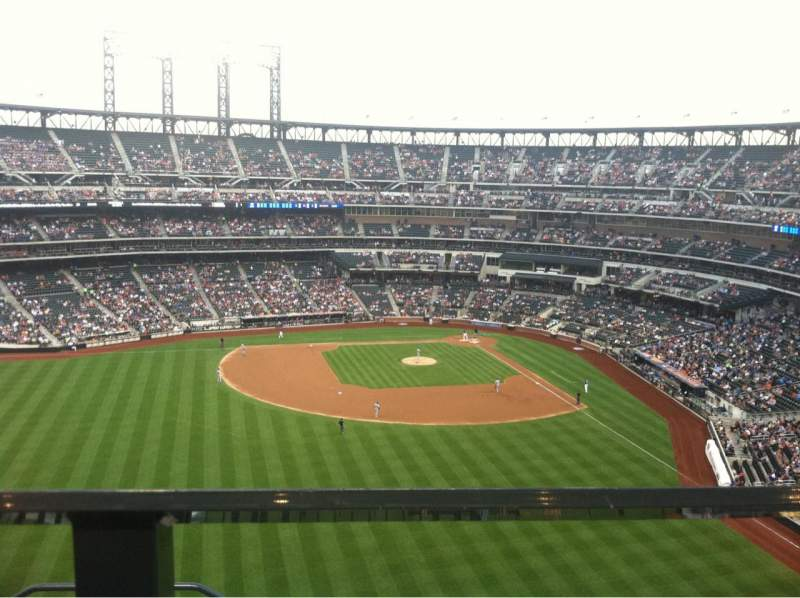 Seating view for Citi Field Section 536 Row 1 Seat 14
