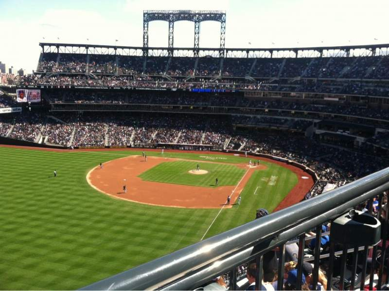 Seating view for Citi Field Section 429 Row 5-WC Seat 8
