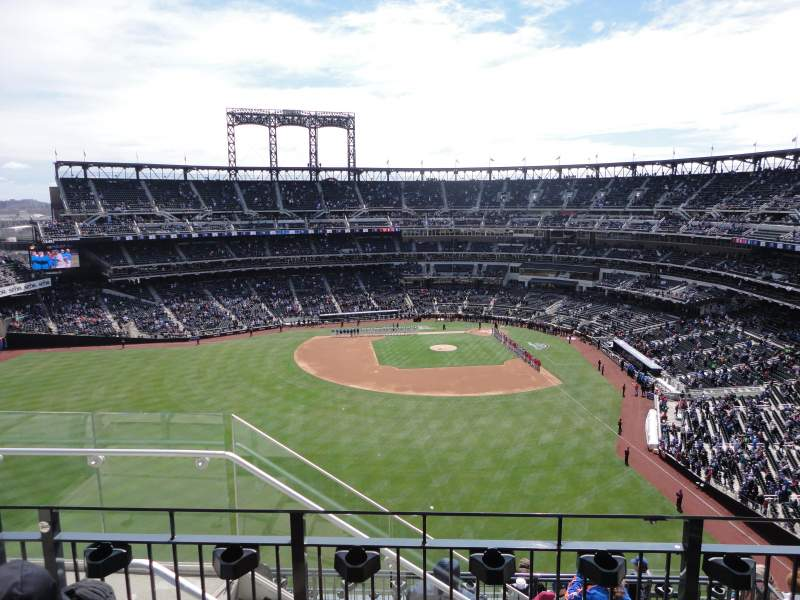 Seating view for Citi Field Section 535 Row 3 Seat 21
