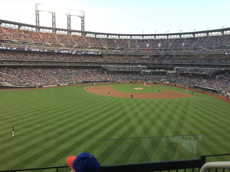 Seating view for Citi Field Section 338 Row 3 Seat 1