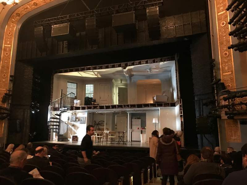 Seating view for Gerald Schoenfeld Theatre Section Orchestra R Row M Seat 2