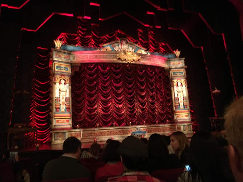 Seating view for Walter Kerr Theatre Section Orchestra Row K Seat 118