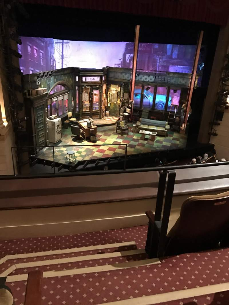 Seating view for Samuel J. Friedman Theatre Section Mezzanine L Row A Seat 1
