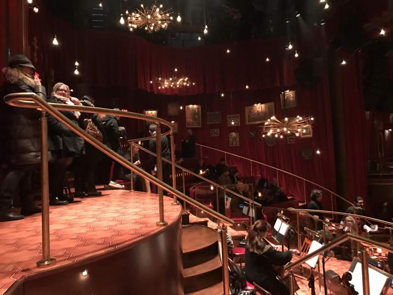 Seating view for Imperial Theatre Section Onstage Row BD Seat 21