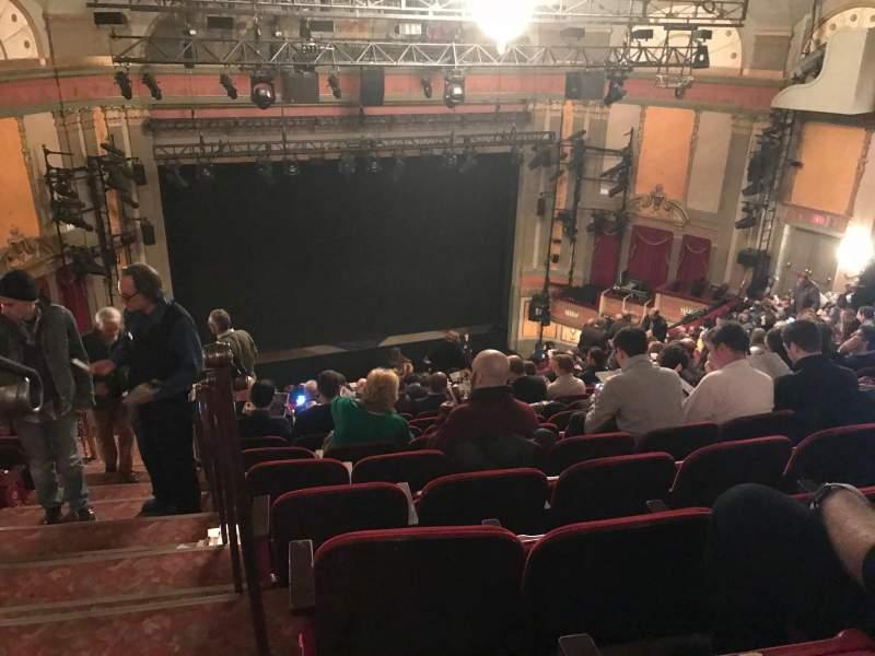 Seating view for Neil Simon Theatre Section Mezzanine C Row S Seat 101