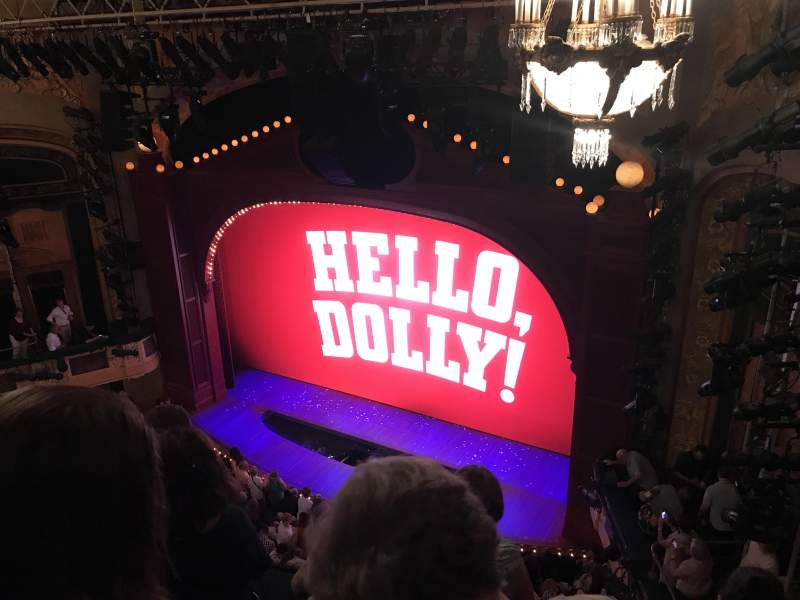 Seating view for Shubert Theatre Section Balcony R Row D Seat 18