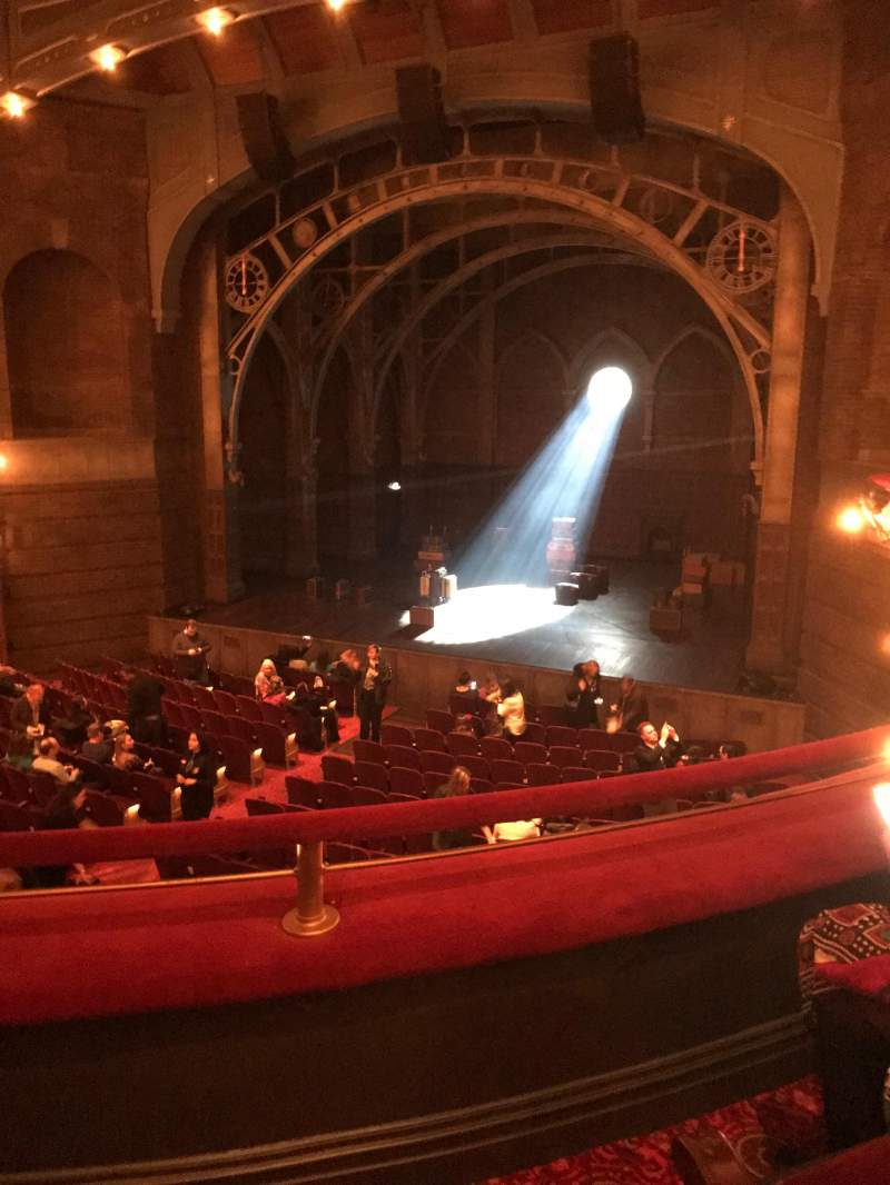 Seating view for Lyric Theatre Section Dress Circle R Row B Seat 6