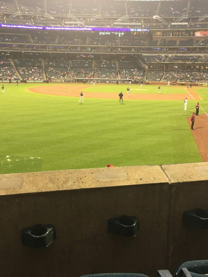 Seating view for Citi Field Section 132 Row 26 Seat 10