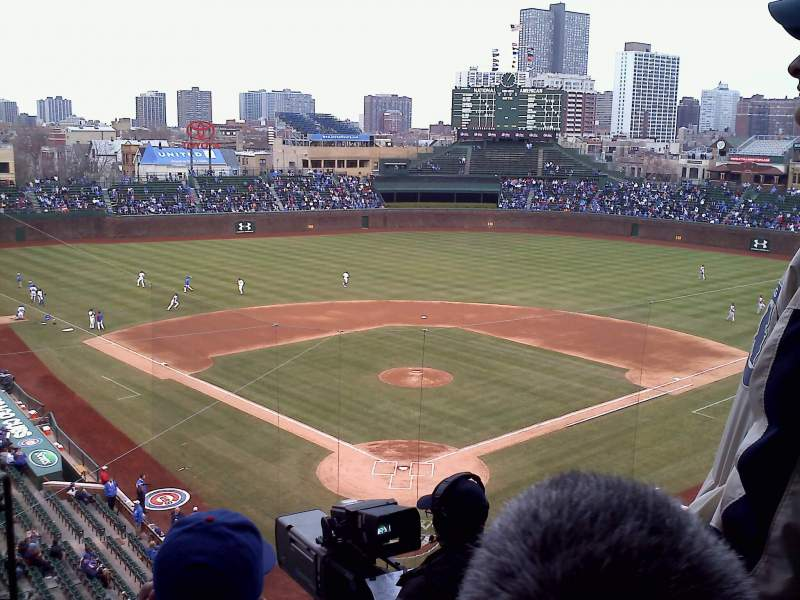 Seating view for Wrigley Field Section 421 Row 5 Seat 3