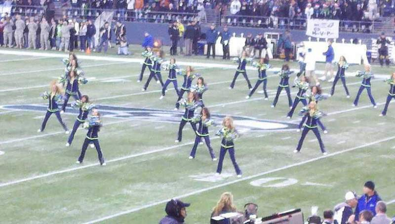 Seating view for CenturyLink Field Section 133 Row R Seat 1-2