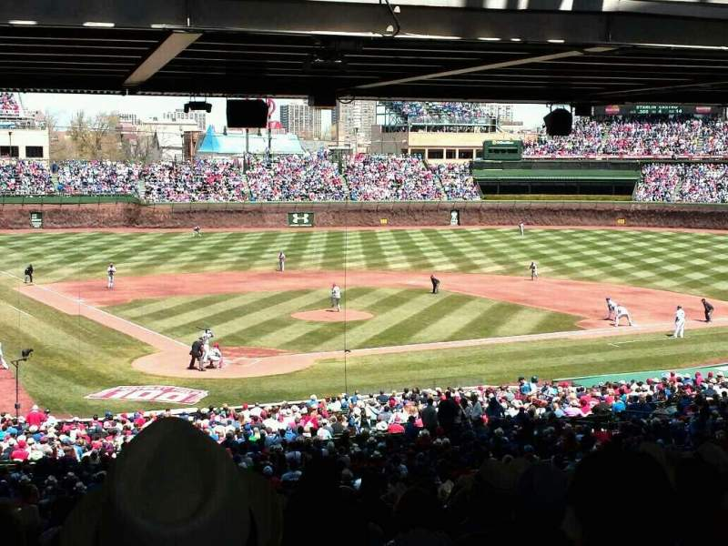 Seating view for Wrigley Field Section 223 Row 21 Seat 6