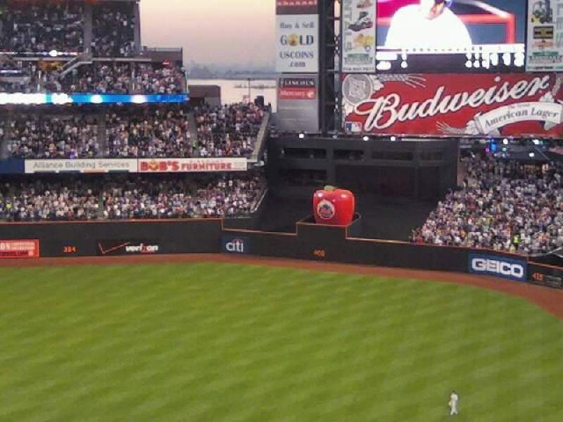 Seating view for Citi Field Section 504 Row 7 Seat 8
