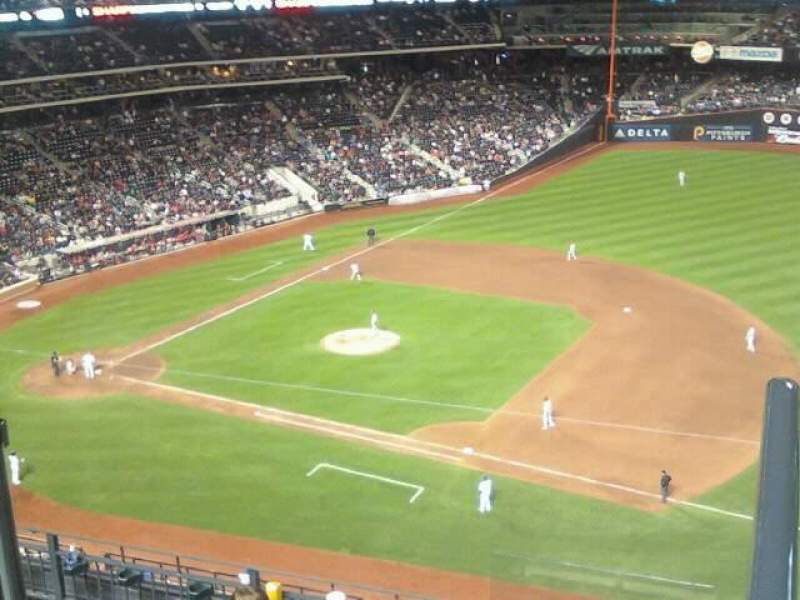 Seating view for Citi Field Section 504 Row 14 Seat 6