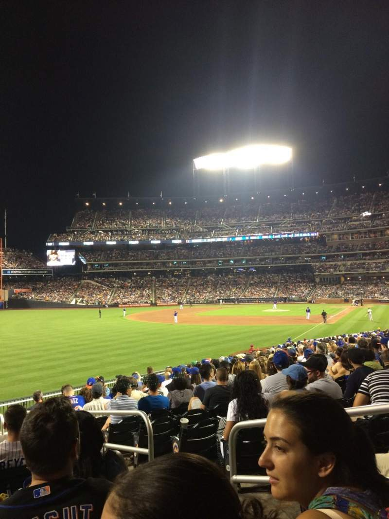 Seating view for Citi Field Section 130 Row 24 Seat 4