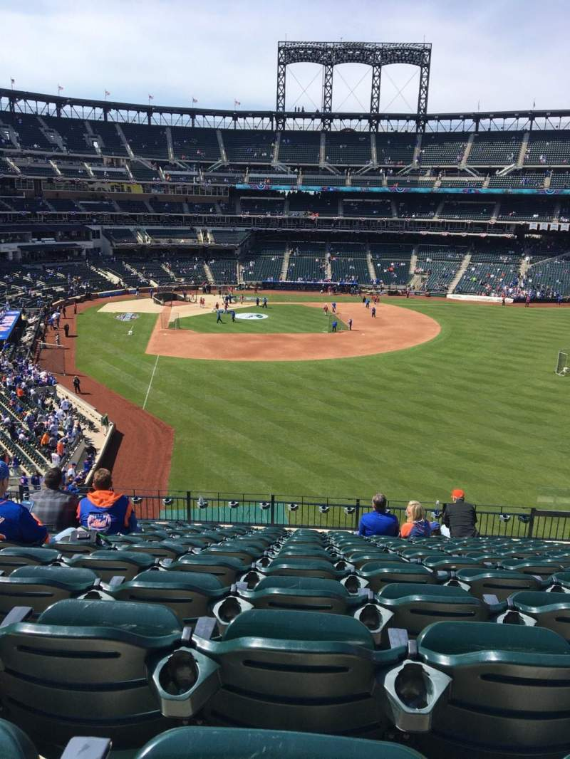 Seating view for Citi Field Section 303 Row 12 Seat 13