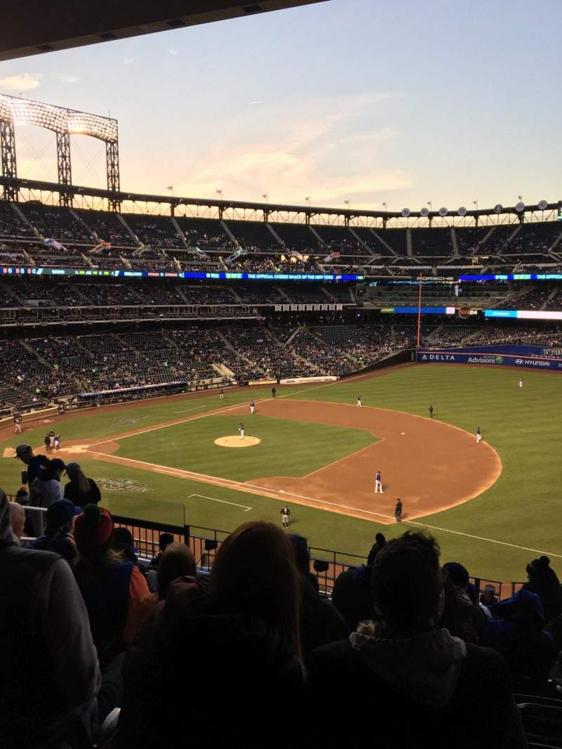 Seating view for Citi Field Section 309 Row 8 Seat 8