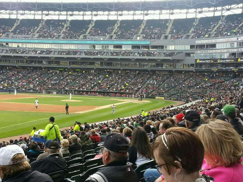 Seating view for Guaranteed Rate Field Section 151 Row 25 Seat 5