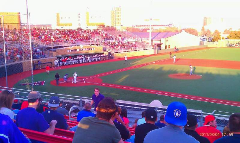 Seating view for Dan Law Field