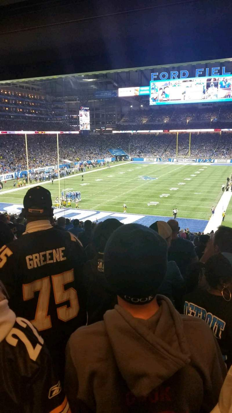 Ford Field, section: 119, row: ADA, seat: 8