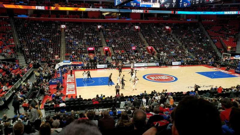 Little Caesars Arena, section: 111, row: 19, seat: 14