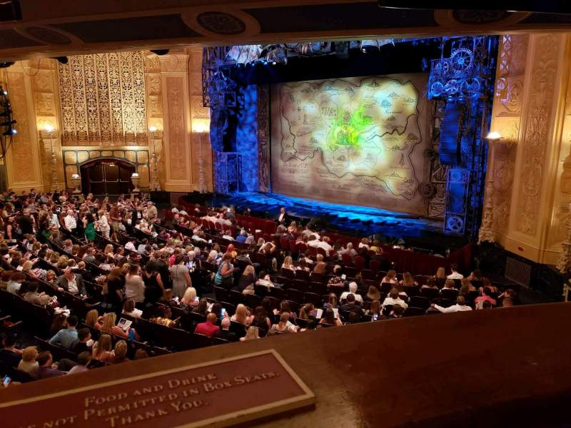 Seating view for Detroit Opera House Section Box 15 Row 1 Seat 2