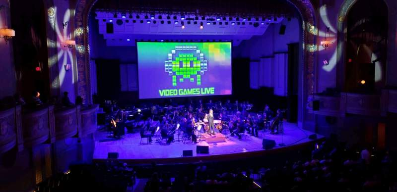 Seating view for Orchestra Hall Section Box Row Q Seat 7