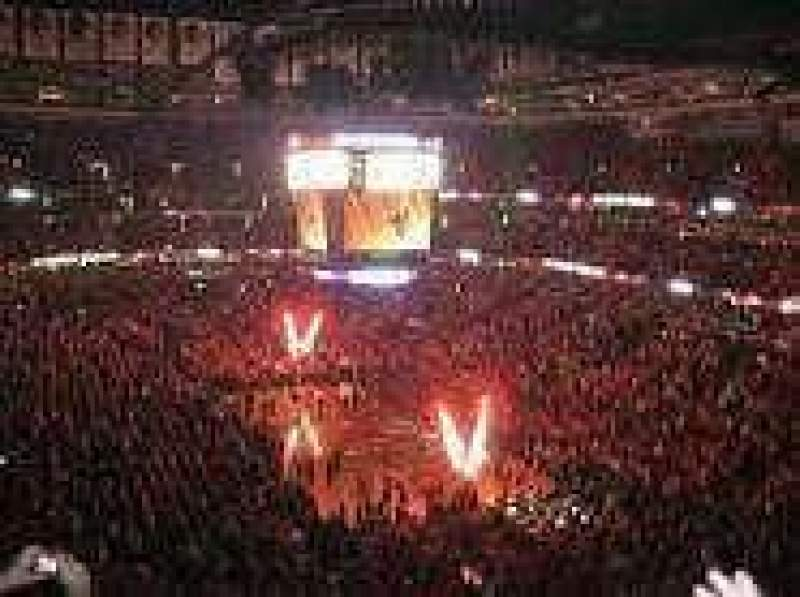 Seating view for United Center Section P69 Row 5 Seat 28