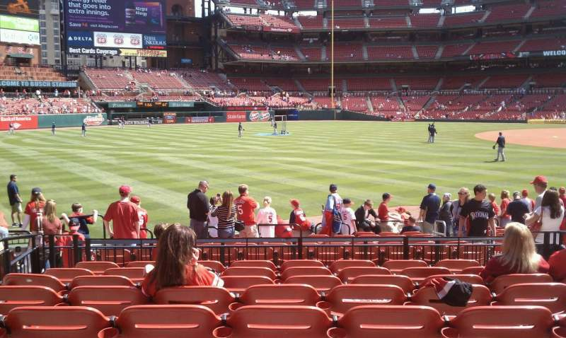 Seating view for Busch Stadium Section 166 Row 9 Seat 6