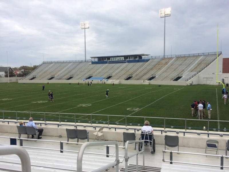 Seating view for Johnson Hagood Stadium Section A Row 12 Seat 16