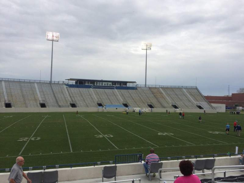 Seating view for Johnson Hagood Stadium Section I Row 10 Seat 6