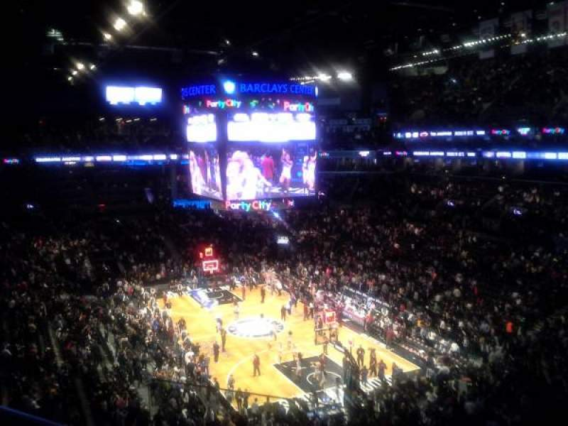 Barclays Center, section: 218, row: 3, seat: 13