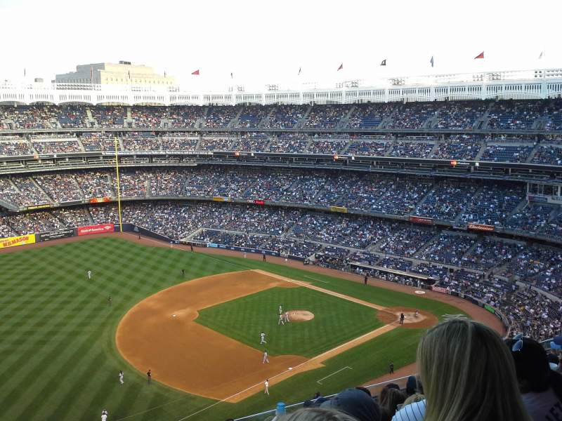 Seating view for Yankee Stadium Section 428 Row 8 Seat 24