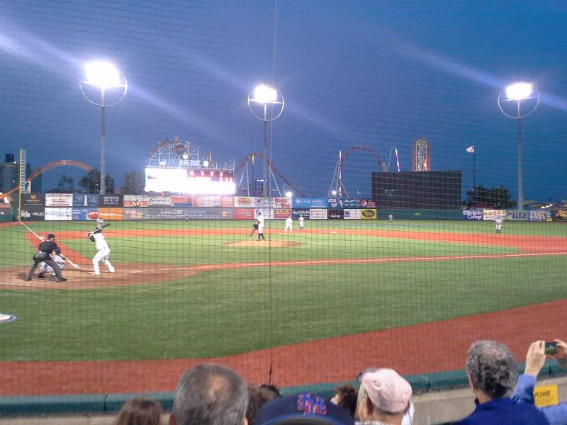 Seating view for MCU Park Section 6 Row E Seat 3