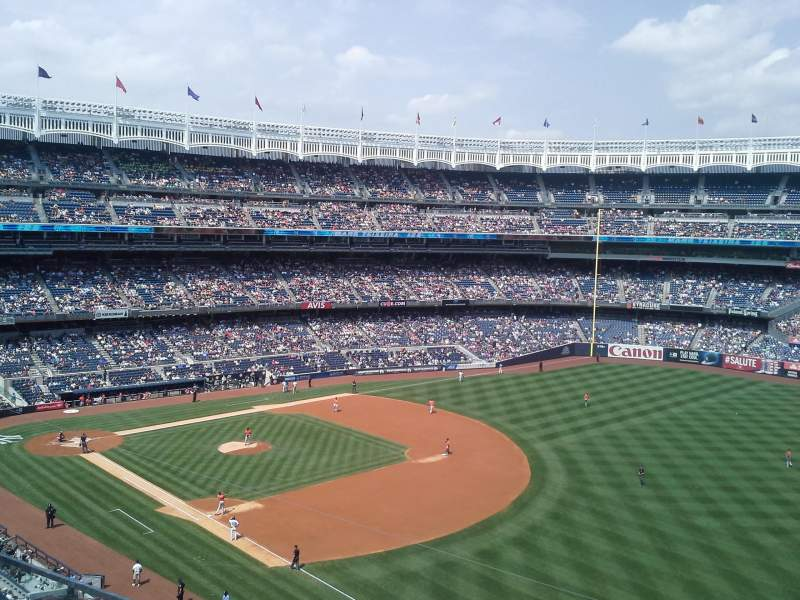 Seating view for Yankee Stadium Section 311 Row 2 Seat 3