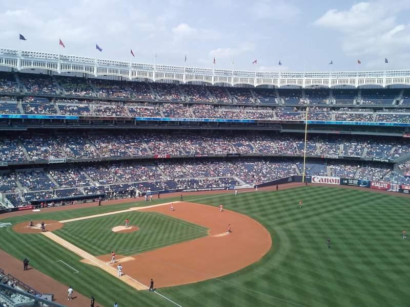 Yankee Stadium, section: 311, row: 2, seat: 3