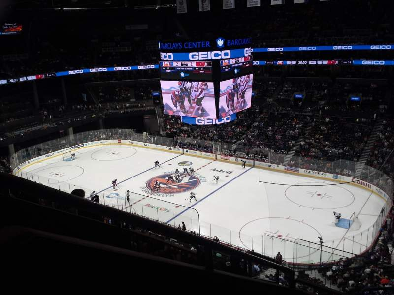 Seating view for Barclays Center Section 221 Row 7 Seat 7
